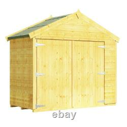 BillyOh Mini Master Tongue and Groove Bike Store Garden Storage Wooden Shed 3x6