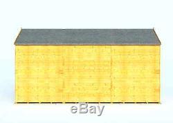 Garden Sheds 12x6 wooden garden shed apex windowless 12x6 feet size floor & roof