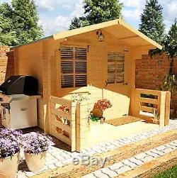 Sensational Design Garden Summer House Outdoor Beach Shed Log Cabin Best Image Libraries Barepthycampuscom