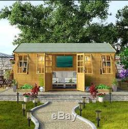 Fabulous Design Outdoor Extra Large Summer House Garden Workshop Best Image Libraries Barepthycampuscom
