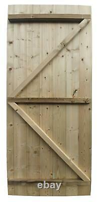 Empire 1000 Pent Garden Shed 14X8 SHIPLAP PRESSURE TREATED T&G DOOR LEFT