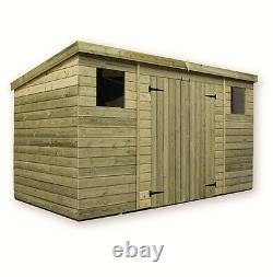 Empire 5000 Pent Garden Shed 10X3 12X3 14X3 SHIPLAP PRESSURE TREATED T&G PENT SH