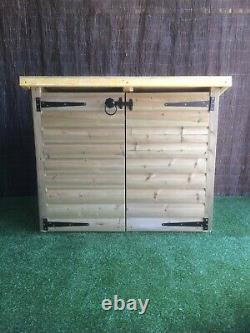 Emsworthy Recycle Box Store / Garden storage / Pent Shed