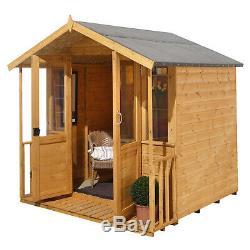 Forest 7x7 Maplehurst Wooden Sheds Summerhouse Garden Building NEW
