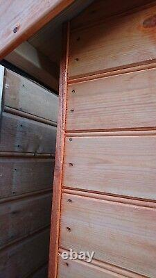 Garden Shed 10x8 Fully T&G Quality Wooden Hut With Double Doors