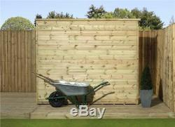 Garden Shed 5x3 Shiplap Pent Shed Pressure Treated Tongue And Groove No Windows