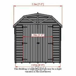 Garden Shed 7' x 7' Shiplap Barn Shire