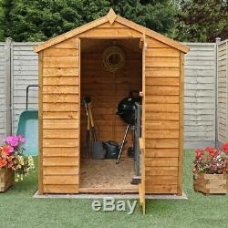Garden Shed Storage Mercia Apex 7'x5' Outdoor Building 7mm Overlap Cladding