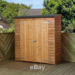Garden Storage Shed Mercia Pent Overlap Garden Storage (6' x 2'6)