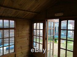 Garden Summer House 10x8. Used. Will dismantle. Would make ideal shed. Bargain
