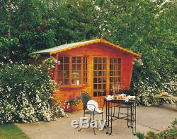 Garden Wooden Shed/Summerhouse 10'x6'8''Sandringham