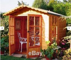 Garden Wooden Shed / Summerhouse'Buckingham' 7'x7' 12x120mm T&G shiplap
