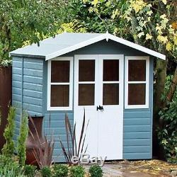 Garden Wooden Shed / Summerhouse'Haddon' 7'x5' 12x120mm T&G