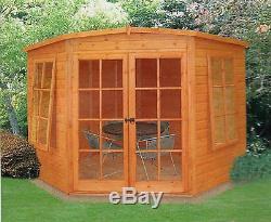 Garden Wooden Shed / Summerhouse'Hampton' 8'x8' 12x120mm T&G shiplap