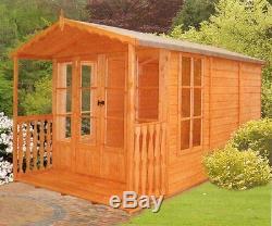 Garden Wooden Shed / Summerhouse'Westminster' 7'x10' 12x120mm T&G shiplap