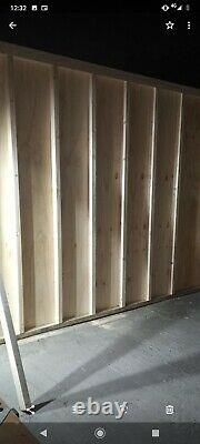 Garden Wooden Shed newly built 10ft X 7 ft X 8 ft height pressure treated
