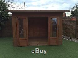 Garden Wooden Summer Play house Shed Mercia Helios