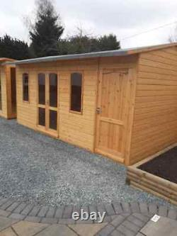 Garden room Summerhouse shed building with Installation & Delivery Included