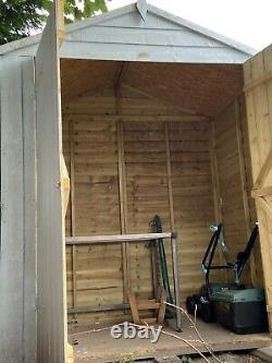 Garden shed 6x4 Double Doors One Year Old