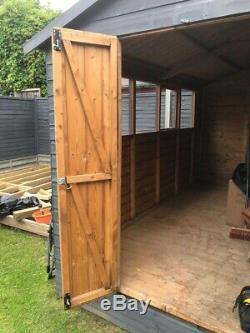 Garden shed workshop
