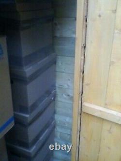 Garden wooden shed, shiplap, Empire Apex 6200