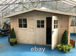 Gardeners Paradise Garden Shed 3.88m (13ft) X 2.98m(10ft) Delivery In 2-3 Weeks