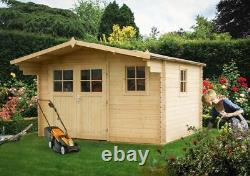 Heavy Duty Wooden Outdoor Summer House, Garden Room, Cabin, Shed, Office, mancave