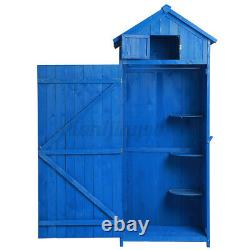Large 6FT Outdoor Garden Shed Wooden Tool Storage Utility Cabinet Cupboard Room