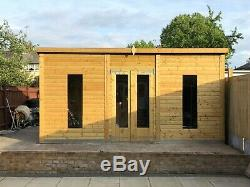 Large Wooden Don Moris Garden Shed / Summerhouse / Office / Outhouse