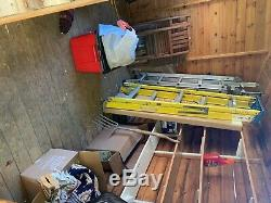 Large Wooden Garden Shed in V. Good Condition Dismantled Ready for Collection