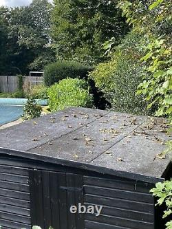 Large wooden garden shed needs to be taken away by end of Friday 15th October