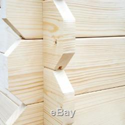 Luxury Log Cabin Garden Summer House Buildings Shed Barn Wood Tools Storage UK