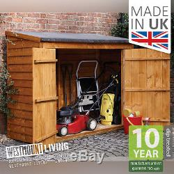 NEW 6x3 6x3FT 6 x 3 FT SMALL WOODEN OVERLAP GARDEN STORE STORAGE LOG SHED