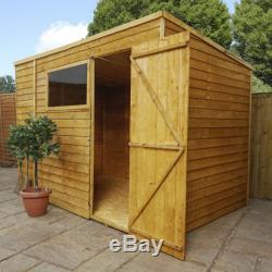 Overlap Pent (10 x 6) Mercia Garden Products Sheds