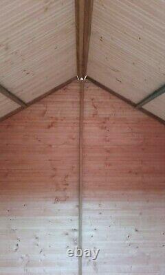 Pinelap Apex Garden Shed Fully T&G Wooden Standard Storage Hut
