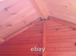 Pinelap Quality Wooden Apex Garden Shed Fully T&G Apex Euro Hut FULLY T&G