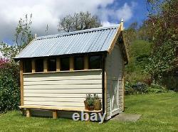 Posh wooden garden shed bespoke custom high quality choose size colour