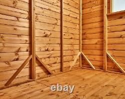 Power Apex Garden Shed Power Sheds Wooden Workshop Sizes 12x8 up to 20x8