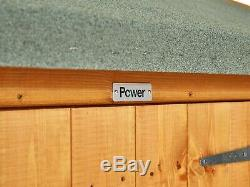 Power Pent Garden Shed Power Sheds Large Pent Sizes 12x6 up to 20x6