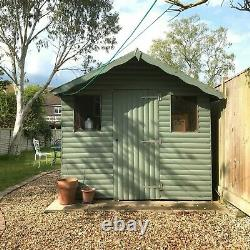 Quality Apex Garden Shed 10x8 foot- Buyer To Dismantle