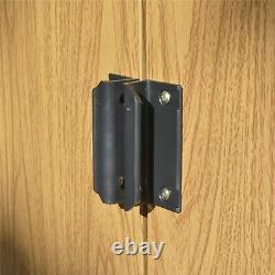 Rowlinson Woodvale 10x8 Metal Shed Garden Storage Unit Cabinet Lockable Apex