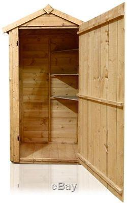SENTRY BOX T&G OUTDOOR POTTING SHED GARDEN TOOLS COMPACT TALL 3 X 2Ft