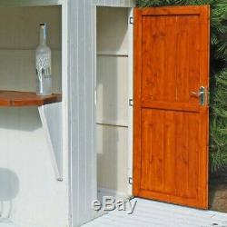 Shire Garden Bar & Storage Shed Store Outdoor Furniture Patio Unit