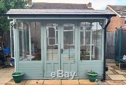 Summerhouse Log Cabin Garden Office Summer House Man Cave Sheds 10 X 8
