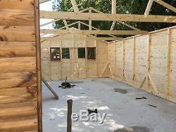 Timber garage, Workshop, garden shed, Tractor Shed, Classic Car Garage