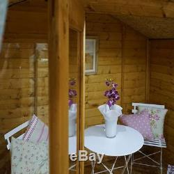 Traditional Summerhouse with Veranda (7 x 7) Mercia Garden Products Sheds