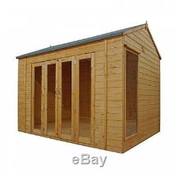 Vermont Summerhouse (10 x 8) Mercia Garden Products Sheds
