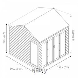 Vermont Summerhouse (8 x 8) Mercia Garden Products Sheds