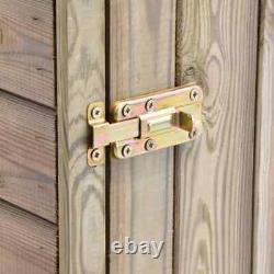 VidaXL Wooden Garden Tool Shed with Door Impregnated Pinewood Garden House