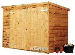 Bike Storage Shed Outdoor Garden Tools Mower Store Cabinet Box 3x6